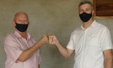 Ari Maldaner e Luciano Scherer são candidatos da situação em Entre Rios do Oeste
