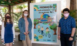 Artistas do Oeste do Paraná recebem premiação do primeiro Concurso Regional de Memes Ambientais