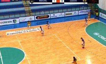 Acompanhe agora, Ao Vivo, o jogo entre Marechal Futsal e Siqueira Campos, pela Liga Futsal Paraná