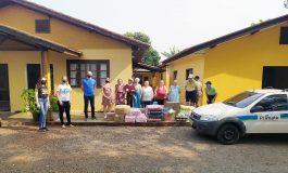 Primato entrega doações de alimentos em Nova Santa Rosa e Cascavel
