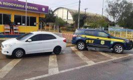 PRF encontra criança sem os pais dentro de carro que foi roubado em setembro do ano passado