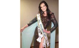 Miss Nova Santa Rosa, Thaline Valiente, conquista o título de Miss Popularidade Paraná