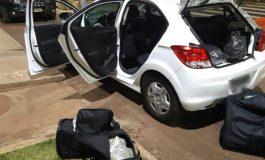 Polícia Rodoviária Federal apreende 54,6 quilos de maconha e haxixe em Santa Terezinha de Itaipu