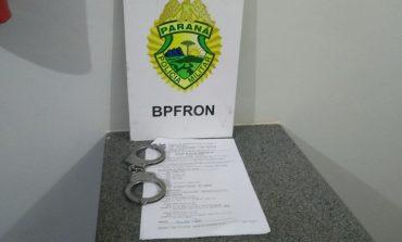 BPFron prende homem com mandado em aberto na cidade de Mercedes