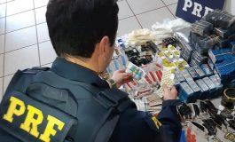 PRF apreendeu em Quatro Pontes mais de 50 mil comprimidos, ampolas e frascos de vários medicamentos