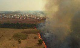 Fumaça do Pantanal se desloca para o Sul do país