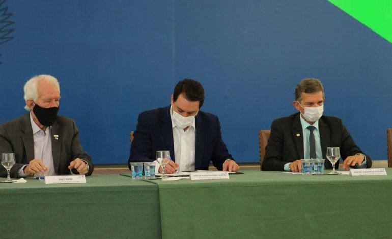 Governo e Itaipu assinam convênio para duplicação da Rodovia das Cataratas