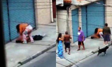 Cansada de ser espancada, mulher revida e mata agressor a facadas em via pública