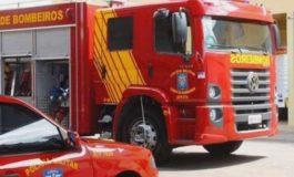 Bombeiros registram incêndio em residência no Loteamento Augusto II em Marechal Cândido Rondon