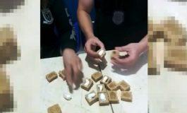 Agentes penitenciários da cadeia de Marechal Rondon encontram cocaína dentro de paçocas enviadas a preso