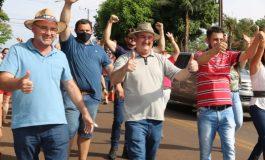 Copatti tem candidatura indeferida, mas continua na campanha apoiando Paulo Mocellin em Santa Helena