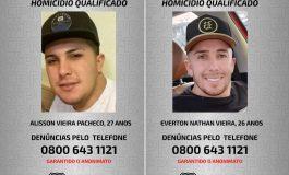 Polícia Civil divulga fotos de dois irmãos suspeitos de homicídio ocorrido em Curitiba