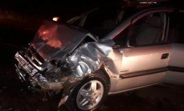 Colisão entre dois veículos deixa três pessoas feridas na PRC-467 em Marechal Cândido Rondon
