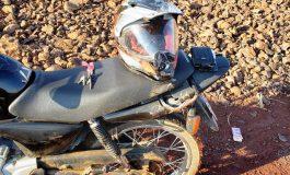 PRE de Marechal Rondon atende acidente com motociclista que teve ferimentos generalizados