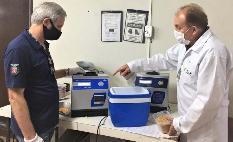 IPEM-PR verifica medidores de umidade de grãos em cooperativas e moinhos do Oeste