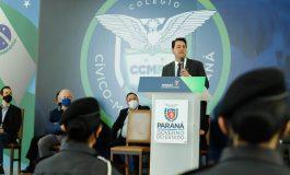 Consulta pública aprova modelo cívico-militar em 163 colégios