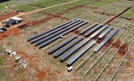 Primeira usina solar da Copel está na fase final de construção