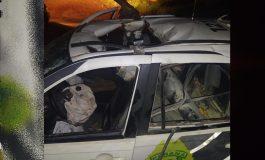 Viatura da PM explode no Paraná após possível ataque com granada; policiais gravemente feridos