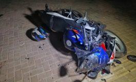 Vítima de grave acidente com motocicleta em Toledo, morre no Hospital