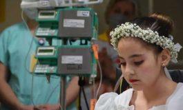 Criança que realizou Primeira Comunhão em Hospital, morre aguardando transplante