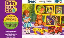 Sesc PR inicia hoje (3) a Campanha do Brinquedo 2020