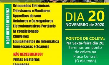 Campanha de coleta de lixo eletrônico ocorre nesta sexta-feira em Mercedes