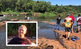 Corpo de Bombeiros encontra corpo do rondonense Elvis Layter que se afogou na Cachoeira do Salto