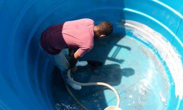 Limpeza de reservatórios de água está sendo realizada nesta semana em Mercedes