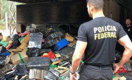 PF de Guaíra faz a oitava incineração de drogas do ano; já foram destruídas mais de 68 toneladas em 2020