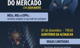 Empreendedorismo e criatividade nos novos tempos do mercado será tema de palestra em Marechal Rondon