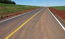 Concluído mais um trecho de asfalto entre Novo Horizonte e Bela Vista