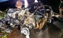 Homem mata mulher em boate e na fuga bate o carro e morre carbonizado
