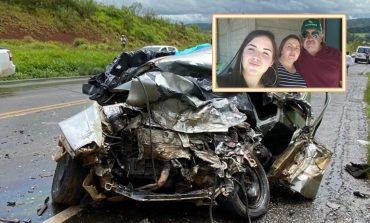 Três pessoas da mesma família morrem em acidente na tarde de hoje (15), na PR-170, em Guarapuava