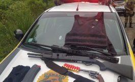 Assaltantes de banco de Santa Catarina entram em confronto com a Polícia Militar do Paraná em Palmas