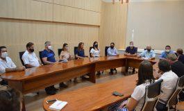 Prefeito Ari Maldaner reúne secretariado e inicia trabalhos em Entre Rios do Oeste