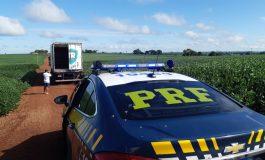 PRF recupera bitrem roubado em Guaíra