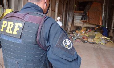 PRF apreende mais de 2,5 toneladas de maconha em Marechal Cândido Rondon