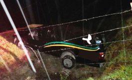 Homem furta carro de funerária com um corpo dentro e se envolve em acidente na fuga em SC