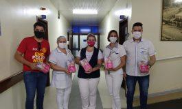Rotary Club 25 de Julho faz entrega de materiais de apoio, adquiridos com subsídio distrital, por meio do prograna PROAMAR