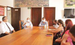 Norberto e Noedi recebem visita do secretário de Estado Marcel Micheletto