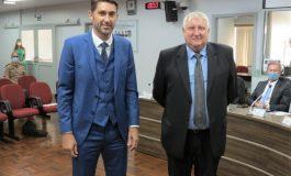Prefeito Marcio e vice Ila são empossados para novo mandato no Poder Executivo
