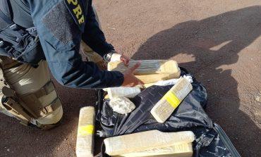 PRF apreende cerca de 20 quilos de maconha em Toledo
