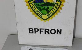 Homem com mandado de prisão em aberto por tráfico de drogas é preso pelo BPFron em Pato Bragado
