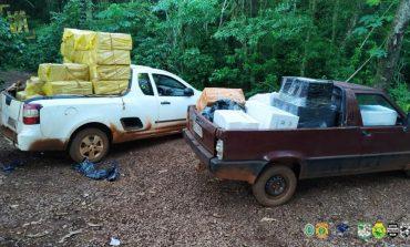 Polícia Federal e BPFron apreendem mais de meio milhão em contrabando durante Operação Hórus em Guaíra