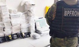 BPFron apreende drogas e contrabando durante Operação Hórus em Toledo e Cascavel