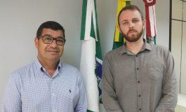 Coronel Welyngton e Alisson Ostjen assumem as secretarias de Mobilidade Urbana e de Coordenação e Planejamento