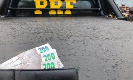Motorista oferece R$ 200 para não ser multado e acaba preso pela PRF no Paraná