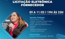 Empresários rondonenses estão sendo convidadas a participar do curso com foco em licitação eletrônica