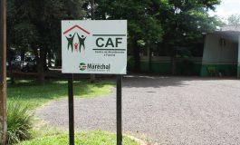 Atividades do CAF que retornariam segunda-feira (1º) estão suspensas devido ao decreto estadual