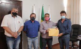 Assessor do deputado Delegado Fernando Martins visita Nova Santa Rosa
